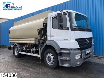 Cisternové vozidlo Mercedes-Benz Axor 1828 Fuel tank, 14420 liter, Liquid meter, 2 compartments, ADR, max 8 Bar
