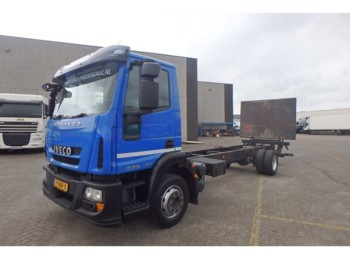 Iveco Eurocargo 120e18 EEV + lift + more in stock - podvozek s kabinou