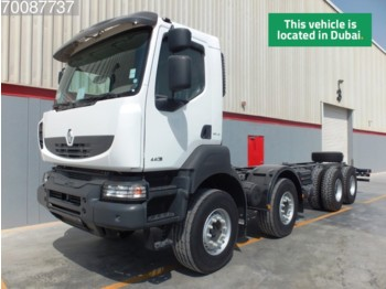 Renault Kerax 440.42 8X4 Steelsuspension Manual - podvozek s kabinou