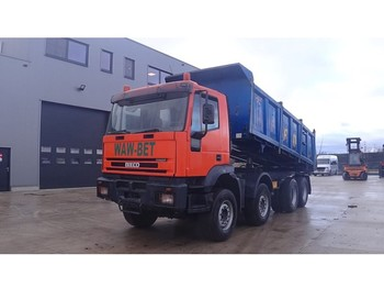 Iveco Eurotrakker 340 E 35 (BIG AXLE / STEEL SUSPENSION / 8X6) - sklápěč