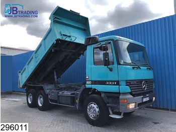 Sklápěč Mercedes-Benz Actros 3331 6x4, Manual, 13 Tons axles, Steel suspenion, Analoge tachograaf, Hub reduction