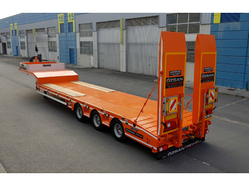 OZSAN TRAILER 3 AXLE LOW LOADER NORMAL /EXTENDABLE  (OZS - L3) - podvalníkový návěs