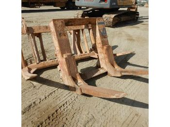 Fork Frames & Forks to suit Wheeled Loader(2 of) - vidle