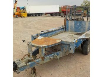LOT # 0477 -- Ifor Williams 8' x 4' Twin Axle Plant Trailer c/w Ramp - přívěs