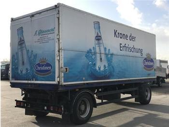 Přívěs na přepravu nápojů Sommer Getränkeanhänger 18 t. Ewers Schwenkwand Überdach