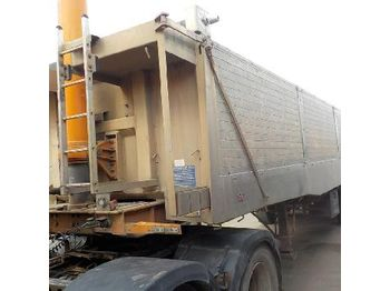 2004 Weightlifter Tri Axle Alloy Tipping Trailer c/w Deconstrucatable Sides, Easy Sheet - SBW3STSNACSD06138 - sklápěcí přívěs
