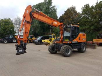 Doosan DX140W TOP CONDITION  - kolesové rýpadlo
