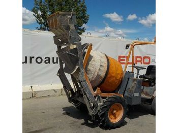 MZ Imer Self Loading Concrete Mixer c/w Roll Bar - 111680 - mini-sklápěčka