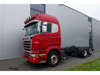 Tahač Scania R480 6X2 EURO 5 RETARDER DUTCH REG.